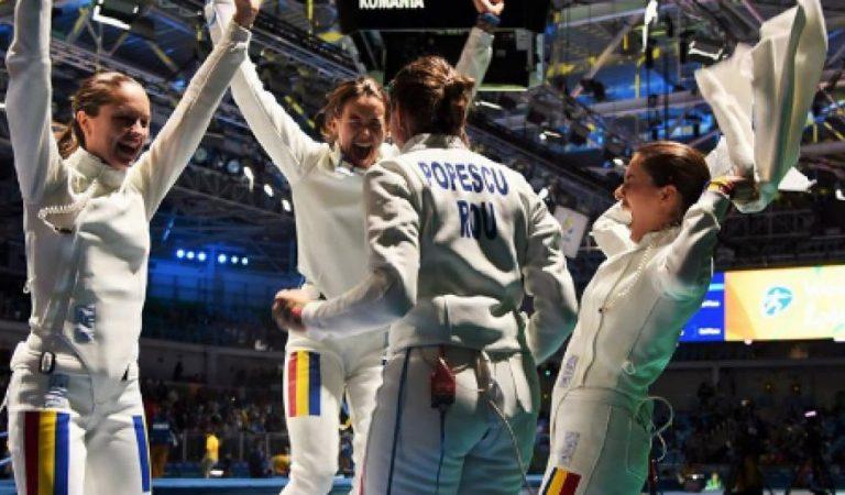 România este campioană olimpică! Fetele de aur de la spadă au făcut instrucţie cu reprezentativa Chinei, în finală