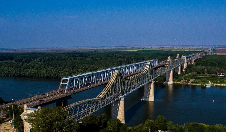 Podul de la Cernavodă era cel mai lung pod din Europa în 1895