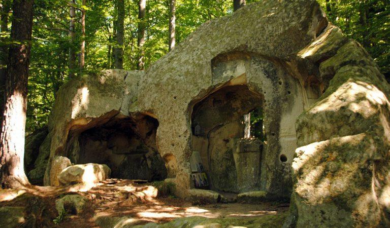 Enigmele din Țara Luanei, Poarta lui Dumnezeu din Munții Buzăului…