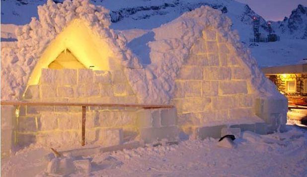 Frozen Love, tema aleasă în acest an pentru hotelul de gheaţă de la Bâlea Lac