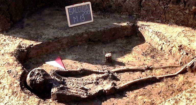 Mormânt celtic, descoperit în Bistrița