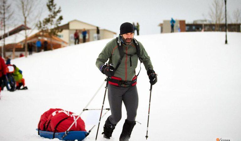 Tibi Ușeriu a terminat maratonul Yukon Arctic Ultra