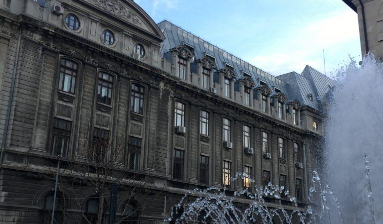Universitatea din București, o construcție arhitecturală culturală